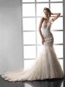 vintage halter beading mermaid wedding dress with chapel With chapel train wedding dress
