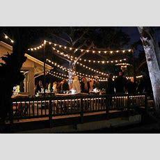 Outdoor String Lights  Lending A Festive Look Decor