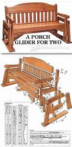 Porch Glider Plans Trä, För hemmet och Idéer