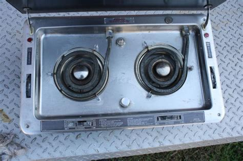 Used Boat Stoves For Sale by Sell Marine Stove Boat Sea Ray Alcohol Electric Dual