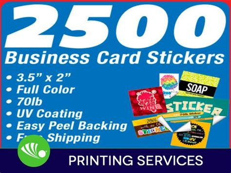 2500 Business Card Sticker Printing Custom 2x3.5 Full Color Business Card Printing Karachi Vancouver Letterhead Company Indesign Creation Color Paper Most Creative Concepts Credit Cost To In Sharjah