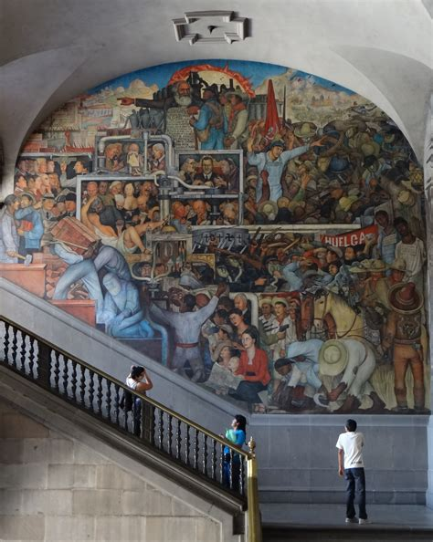 murals in mexico city file history of mexico mural by diego rivera mexico city jpg