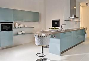 Farbe Für Küchenfronten : k chen k chenfronten in hellblau ~ Sanjose-hotels-ca.com Haus und Dekorationen