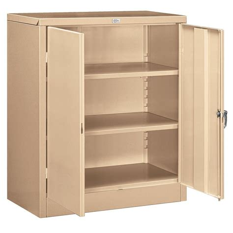 counter height storage cabinet salsbury industries 9000 series 42 in h x 18 in d