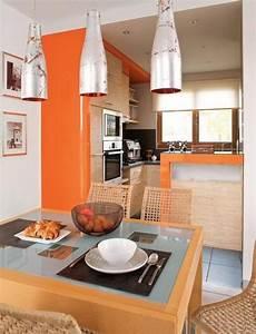 decoration cuisine bois clair With delightful quelle couleur avec du bleu 11 quelle couleur pour un salon 80 idees en photos