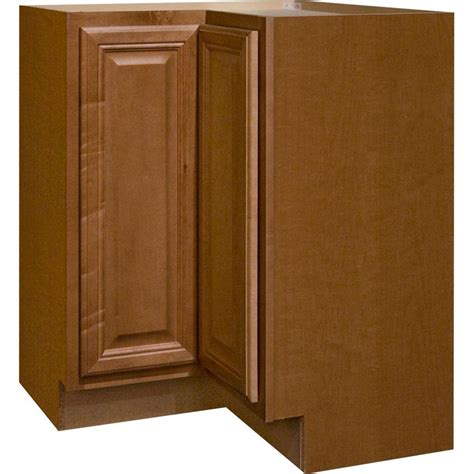 adding a lazy susan in a corner cabinet hton bay cambria assembled 28 5x34 5x16 5 in lazy