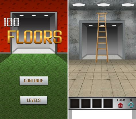 100 Floors App For Android, Unique Puzzles To Spend