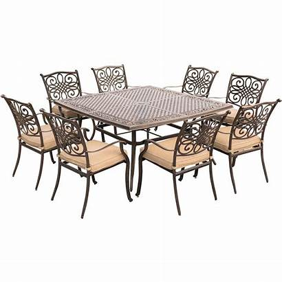 Dining Hanover Patio Square Traditions Table Piece
