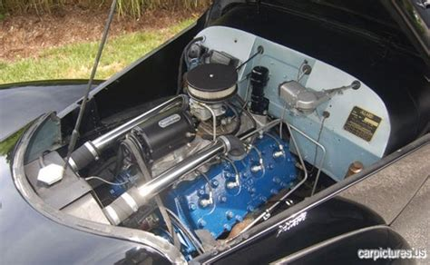 1948 Allard M Type Coupe Ford 59a Flathead V8 Engine View