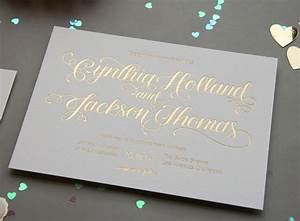 gold foil wedding invitations With gold foil wedding invitations online