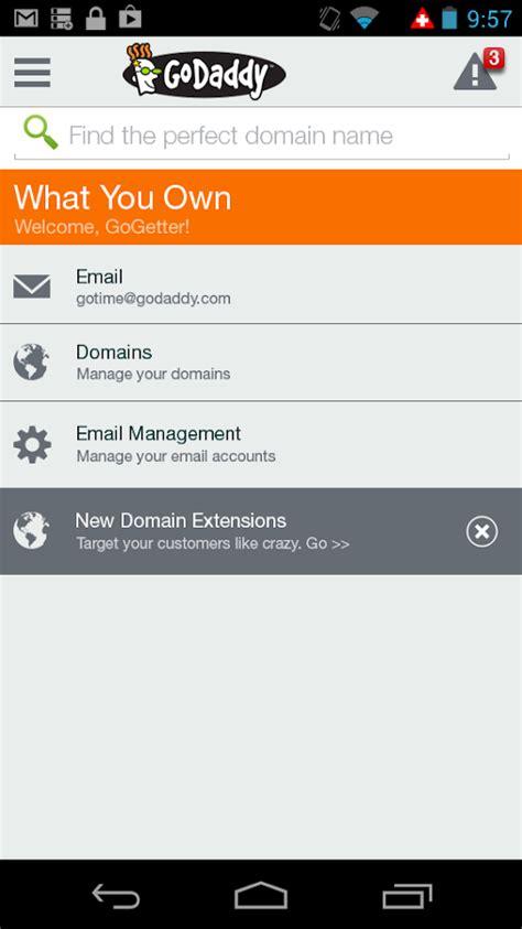 apk share godaddy email workspace login