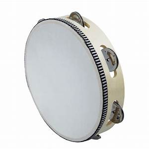 "8"" Musical Tambourine Drum Round Percussion Gift for KTV ..."
