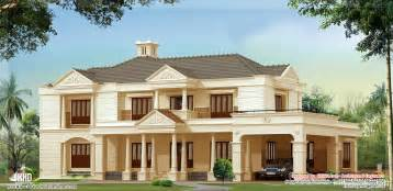 luxurious home plans ocak 2013 kerala home