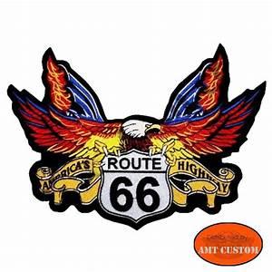 Patch Eagle Route 66 - AMT CUSTOM Shop