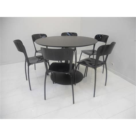 tables de cuisine rondes set table 6 chaises quot riva quot achat vente table de cuisine set table 6 chaises quot riva