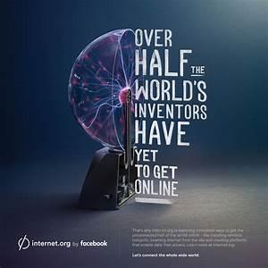 Facebook Print Advert By Sid Lee: internet.org - Inventors ...