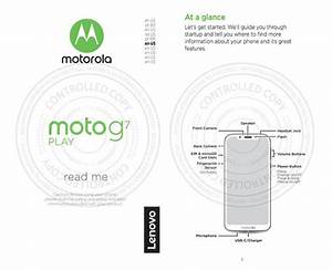 Moto G7 Play To Rock The Notch  Sport A Smaller Battery