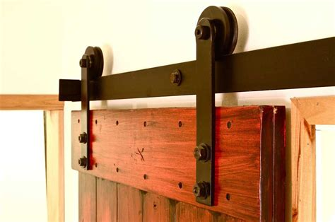 smooth and lasting wheel for sliding barn style door