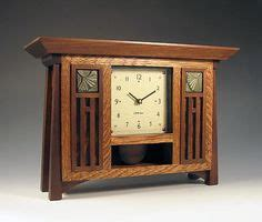 mission style clocks images craftsman furniture