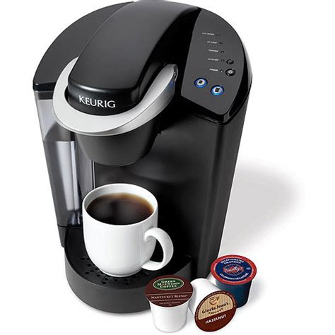 He, like me, drinks two cups of coffee a day. Walmart: Keurig Elite K40 Single Serve Coffeemaker Brewing System $98.00 + FREE SHIPPING ...
