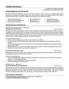 food service resume whitneyport dailycom With food service worker resume