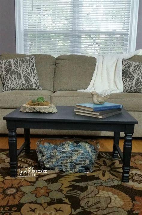 coffee table  chair legs  wood flooring  repurposed life