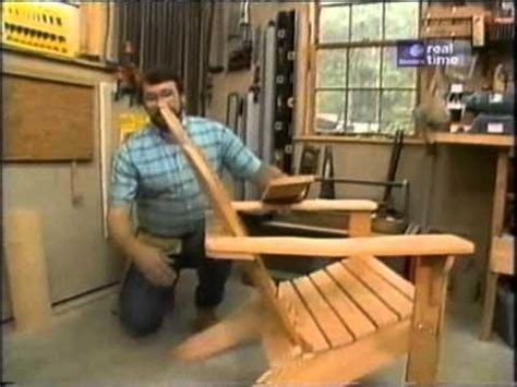 adirondack chair plans  yankee workshop woodworking