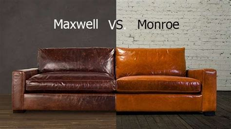 maxwell sofa knock monroe vs maxwell from cococo home the monroe is the