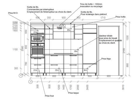 plan electrique cuisine plans techniques construction d 39 une maison et piron