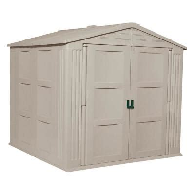home depot suncast shed access 7 x 10 resin shed