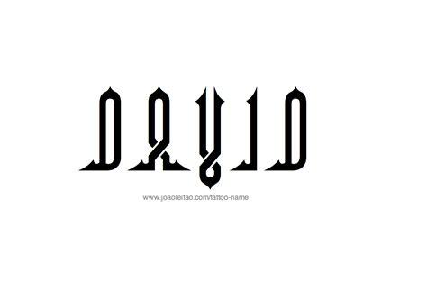 david  tattoo designs