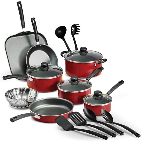 pans stick cookware pots non kitchen teflon cooking lids piece
