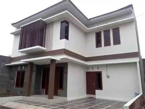 desain rumah minimalis  lantai  biaya murah