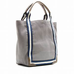 Lyst - Anya Hindmarch Pont Canvas Tote in Gray