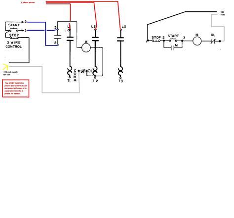 square    starter    phase motor