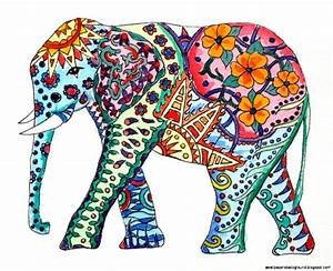 Drawn elephant tumblr backgrounds - Pencil and in color ...