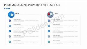 Pros and Cons Powerpoint Template - Pslides
