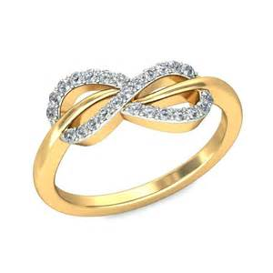 yellow gold engagement ring infinity design engagement ring in yellow gold jewelocean
