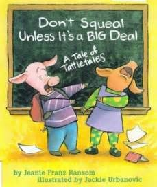 The Place for Character: Don't Squeal Unless It's a Big ...