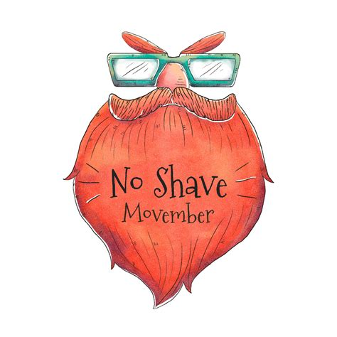 Mustache Beard for Movember Day Vector - Download Free ...
