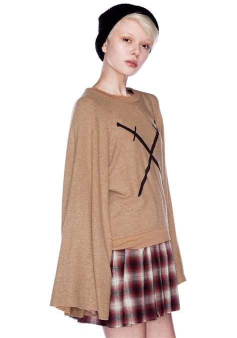 sword sweater wildfox couture swords crossed sweater dolls kill