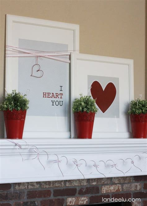 valentines day mantel 10 beautiful valentine s day mantels the crafting nook by titicrafty