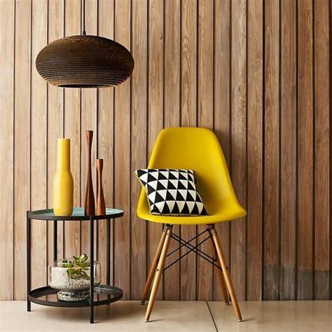 chaise jaune moutarde la couleur jaune moutarde nouvelle tendance dans l