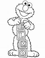 Elmo Coloring Pages Printable Potty Sheets Books Names sketch template