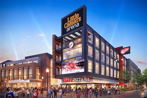 Even More Pizza Headed to Little Caesars Arena - Eater Detroit