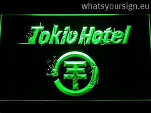 Tokio Hotel neon sign LED sign shop What s your sign
