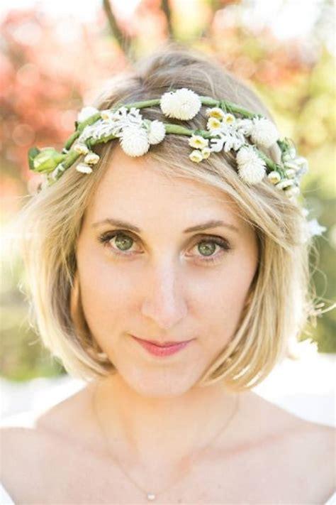ways  style short hair   wedding bridal musings