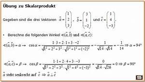 Kreuzprodukt Berechnen Trick : vektorrechnung vektoren multiplizieren l nge eines vektors ~ Themetempest.com Abrechnung