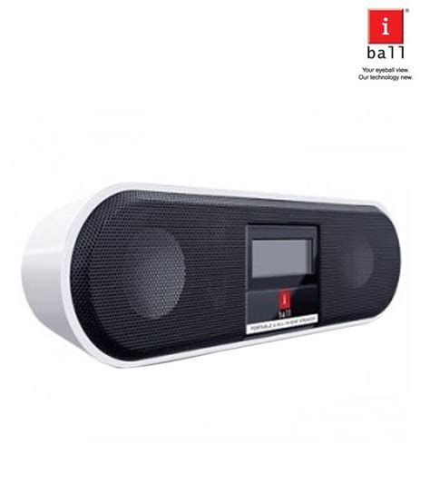 Boat Speakers Price by Iball Boat Portable Speakers Brown Available At