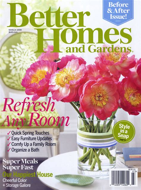 better home and garden better homes and gardens magazine 24 issues free couponing 101